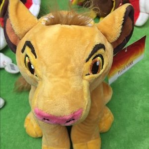 Disney the line king plush bank new with tags